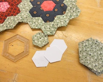 hexagons, 3/4 inch...100 pieces, laser cut