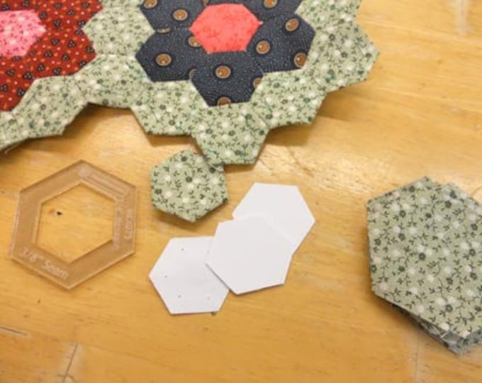 hexagons, 3/4 inch...100 pieces, laser cut