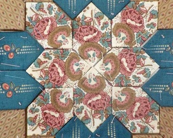 Lucy Boston Patchwork of the Crosses civil war block kit #25