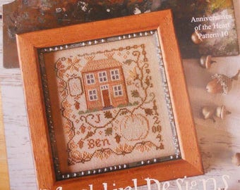 Pumpkin Farm, Anniversaries of the Heart Pattern 10, by Blackbird Designs...cross-stitch design