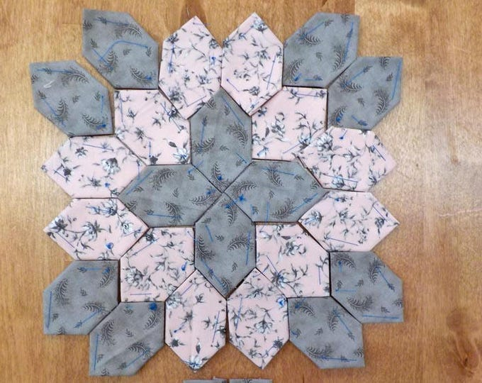 Lucy Boston Patchwork of the Crosses summer cottage block kit #24