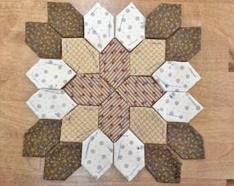 Lucy Boston Patchwork of the Crosses civil war block kit #52
