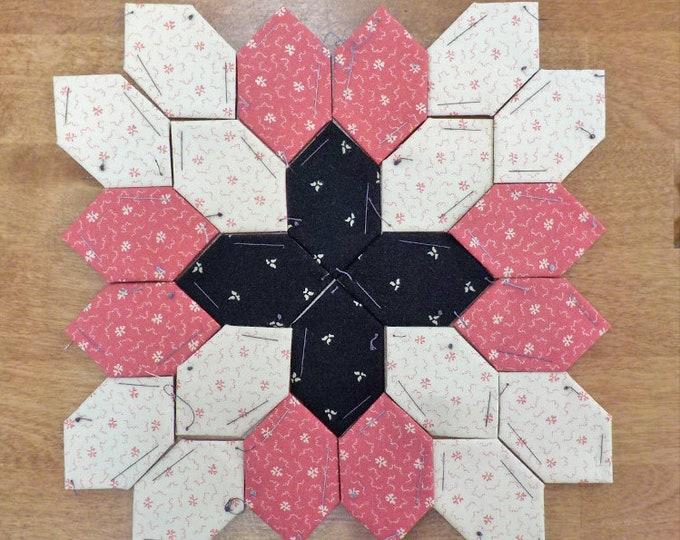 Lucy Boston Patchwork of the Crosses civil war block kit #38