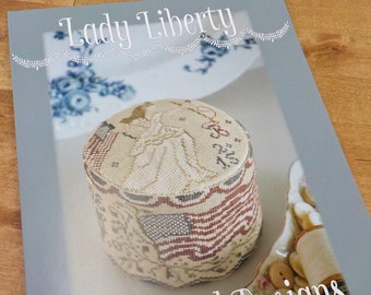 Lady Liberty by Blackbird Designs...cross stitch pattern, cross stitch