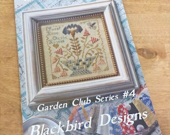 Sweet Home, Garden Club Series #4, by Blackbird Designs...cross-stitch design