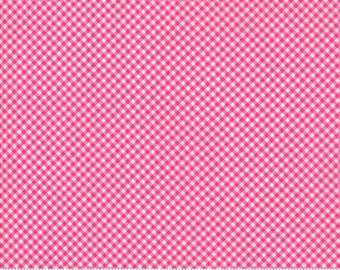 Guest Room Raspberry 8416 12 by Kristyne Czepuryk of Pretty by Hand for Moda Fabrics