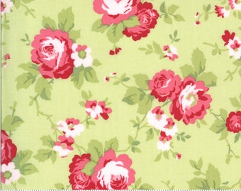 Sophie Main Floral Sprout 18710 15 by Brenda Riddle for Moda Fabrics