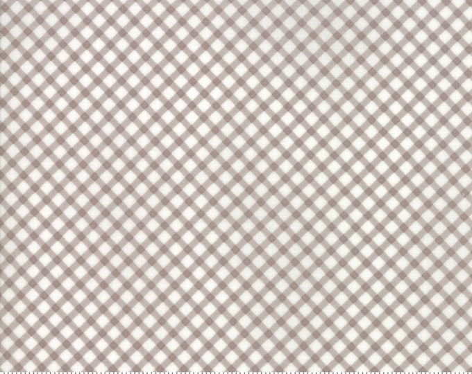 Amberley 18676 18 pebble check by Brenda Riddle Designs for Moda Fabrics