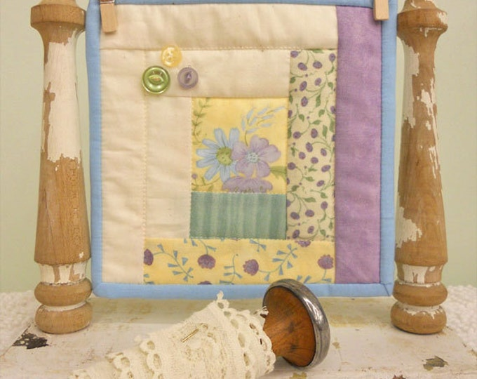 Summer Cabin, a Sweet Delight, complete kit...pattern designed by Mickey Zimmer for Sweetwater Cotton Shoppe