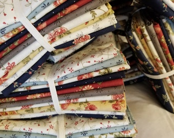 Memoirs by 3 Sisters for Moda Fabrics...10 fat quarter bundle...exclusive grouping