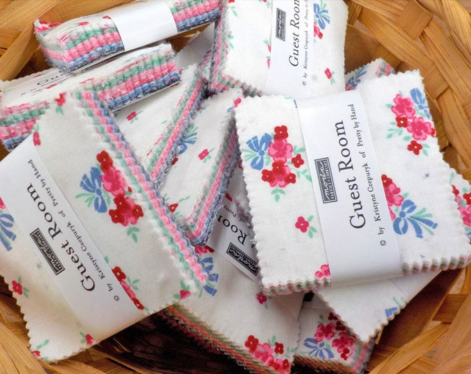 Guest Room mini charm pack by Kristyne Czepuryk of Pretty by Hand for Moda Fabrics