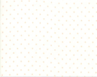 Rue 1800 44228-22 Porcelain dot by 3 Sisters for Moda Fabrics