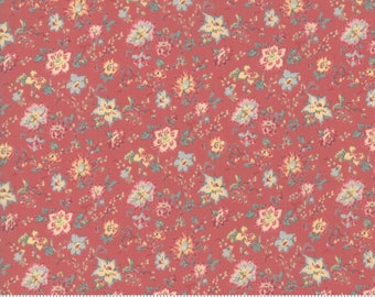Trés Jolie Lawns Faded Red 13874 14LW by French General for Moda Fabrics