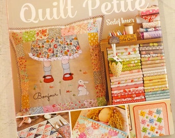 Quilt Petite, 18 sweet and modern mini quilts and more by Sedef Imer for Tuva, 18 projects