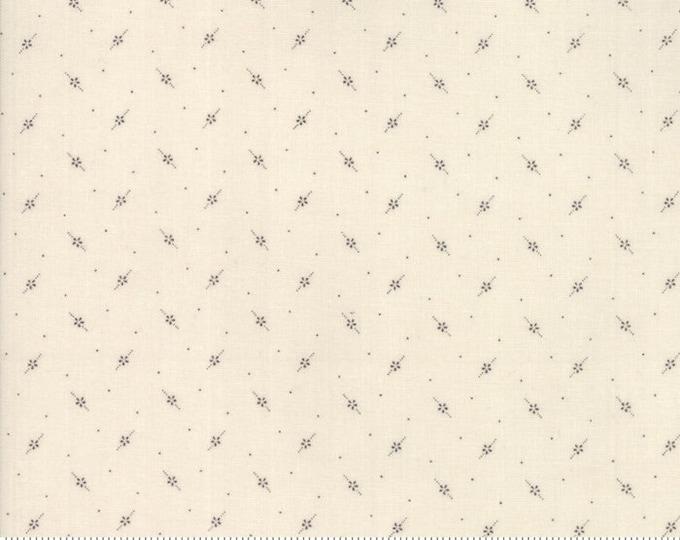 Flower Garden Background Gatherings Tallow 1247 11 by Primitive Gatherings for moda fabrics