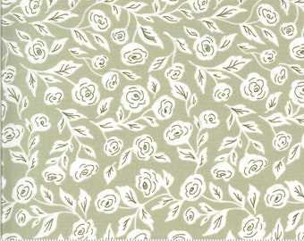 Folktale Enchanted Bloom Sage 5121 14 by Lella Boutique for Moda Fabrics