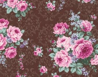 Country Ruru Marie Floral QGRU238011E by Quilt Gate for Robert Kaufman