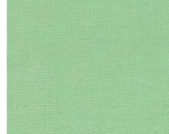 Bella Solids Bettys Green 9900 121 by moda fabrics