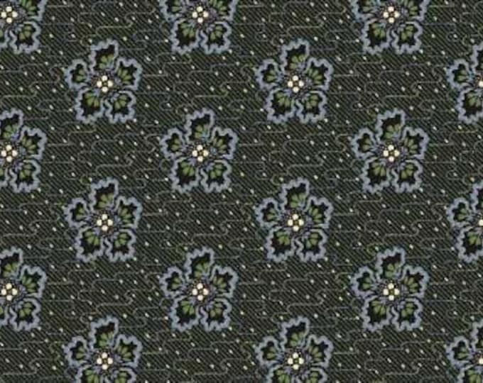 Lucy's Collection dark green flower designed by Jennifer Chiaverini of Elm Creek Quilts for Red Rooster Studio