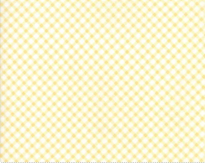 Amberley 18676 14 sunshine check by Brenda Riddle Designs for Moda Fabrics