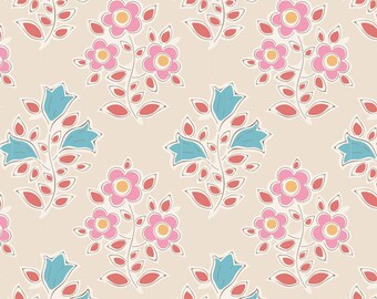 Tiny Farm Farm Flowers Rosehip TIL110009-V11...a Tilda Collection designed by Tone Finnanger