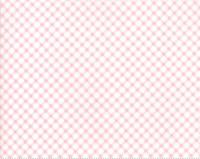 Amberley 18676 15 peony check by Brenda Riddle Designs for Moda Fabrics