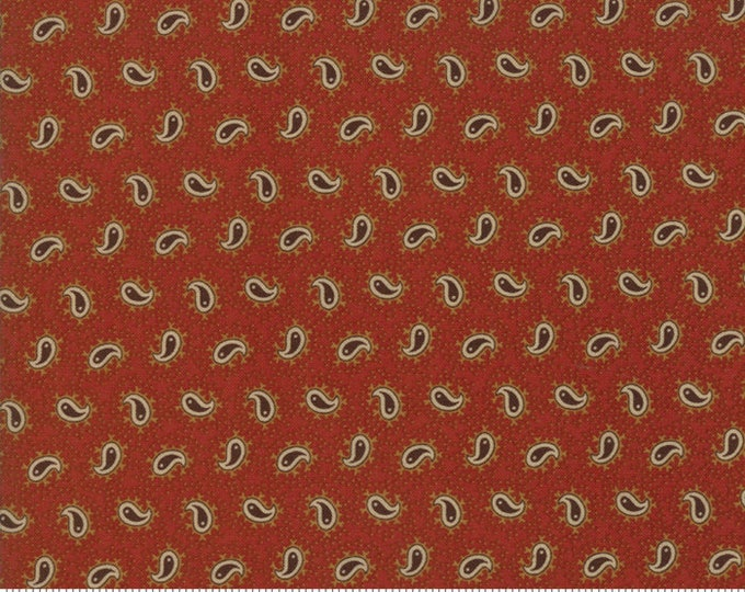 Spice It Up Redder Rust 38058 16 by Jo Morton for Moda Fabrics