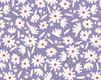 Bon Voyage Paperflower Blue TIL100247-V11...a Tilda Collection designed by Tone Finnanger