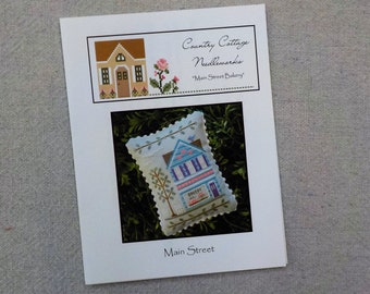 Main Street, Main Street Bakery, designed by Country Cottage Needleworks, Main Street Collection, Cross Stitch collection