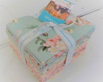 Rose & Violet's Garden fat quarter bundle by Miss Rose Sister Violet for Riley Blake Designs, 21 fat quarters