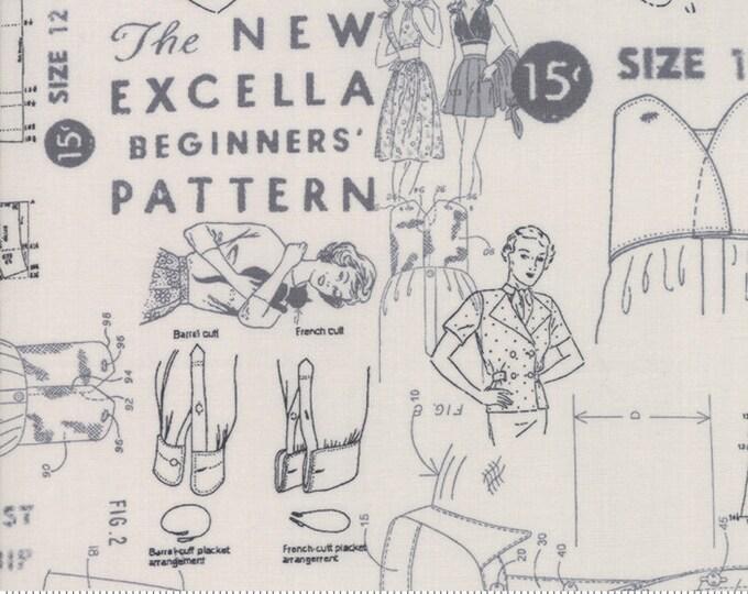 Modern Backgrounds More Paper Fog 1672 14  by Zen Chic for Moda Fabrics