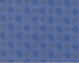 Mackinac Island Medium Blue 14893 24 by Minick and Simpson for Moda Fabrics