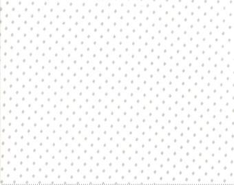 Merry Merry Snow Days Snow Grey 2948 18 designed by Bunny Hill Designs for Moda Fabrics