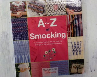 A~Z of Smocking by Search Press Classics