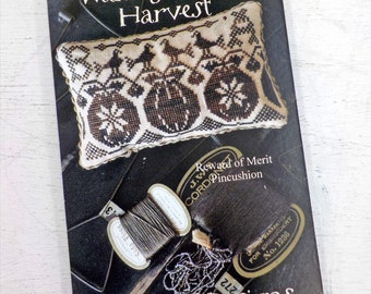 Waiting for the Harvest, Reward of Merit Pinkeep, by Blackbird Designs...cross-stitch design