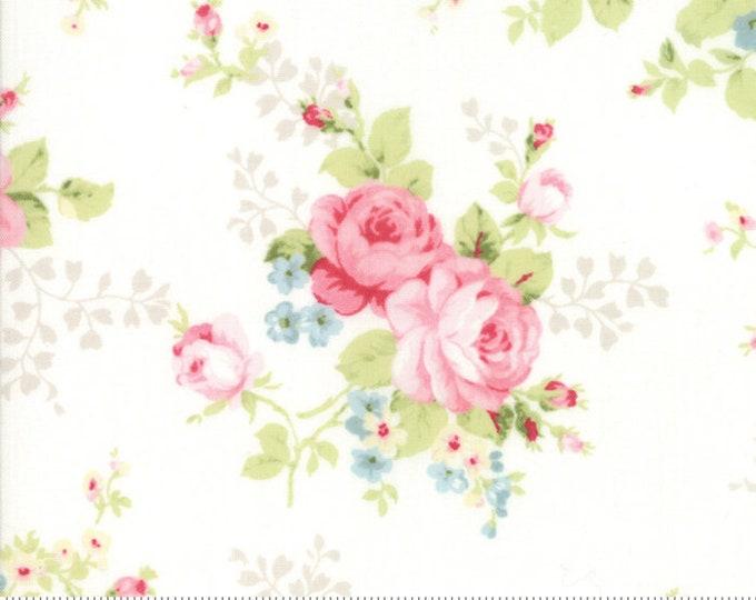 Amberley 18670 11 linen white by Brenda Riddle Designs for Moda Fabrics