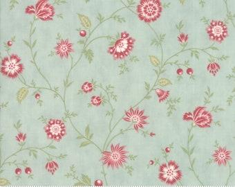 Porcelain Mist 44193 14 by 3 Sisters for moda fabrics