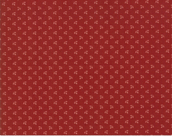 Harriet's Handwork 1820-1840 Berry Red 31574 20 by Betsy Chutchian for Moda Fabrics
