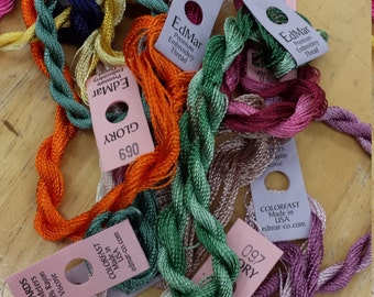 Succulence Thread Pack of 10 skeins of Edmar Thread