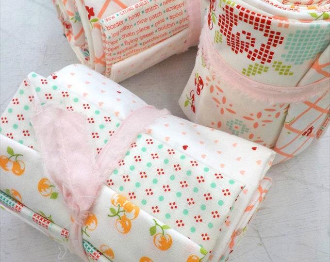 Handmade Life, Bonnie and Camille background bundle, exclusive bundle, fat quarter bundle, moda fabrics