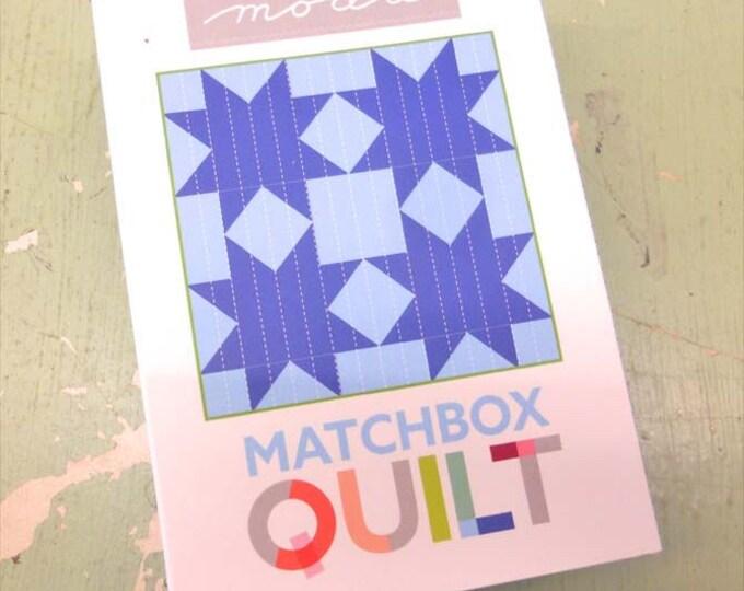 Matchbox Quilt No. 7 by moda fabrics...mini quilt kit...6 inch quilt kit