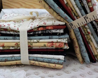 Memoirs by 3 Sisters for Moda Fabrics...13 fat quarter bundle...exclusive grouping