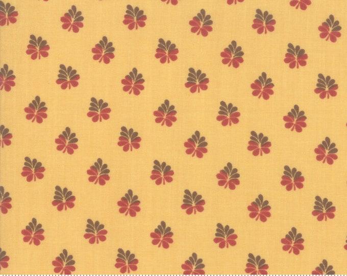 Sarah's Story 1830-1850, Butter 31596 15 fabric designed by Betsy Chutchian for Moda Fabrics