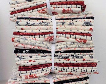 American Gathering 10 fat quarter bundle by Primitive Gatherings for moda fabrics, exclusive grouping