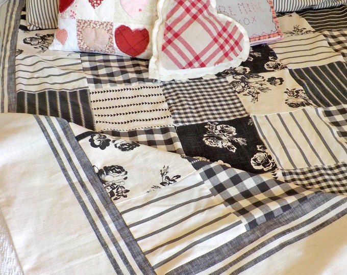 Urban Cottage Blanket...quilt kit...designed by Mickey Zimmer for Sweetwater Cotton Shoppe