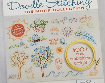 Doodle Stitching, The Motif Collection, by Aimee Ray for Stash Books