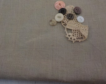 R & R Reproductions, Vintage Beeswax, 36 ct, Fat Quarter, 100% linen, cross stitch linen