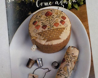 Sweet Summer, Come Again by Blackbird Designs...cross-stitch design