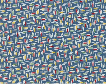 Play All Day Blue 21746 18 by American Jane for moda fabrics