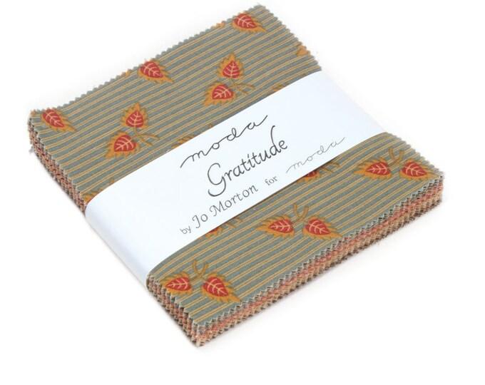 Gratitude charm pack by Jo Morton for moda fabrics